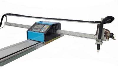 पोर्टेबल सीएनसी लौ / प्लाज्मा काटने मिसिन इस्पात 8mm सीएनसी धातु काटने मिसिन पीतल तांबे को लागि