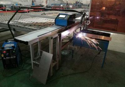 1-15mm आयरन शीट को लागि पोर्टेबल सीएनसी 100 ए प्लाज्मा काटन मिसिन