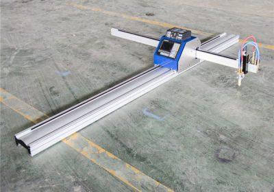 सीएनसी प्लाज्मा टेबल स्टेनलेस / स्टील / सहको प्लेट को लागी काटने को मिसिन