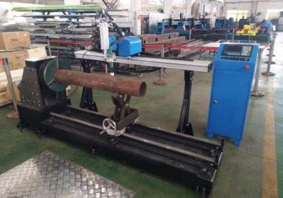 नयाँ उत्पादन पोर्टेबल सीएनसी प्लाज्मा स्टेनलेस स्टील पाइप काटने मिसिन