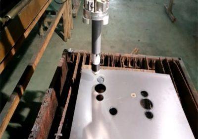 प्रमाणित टिकाऊ सीएनसी लौ / प्लाज्मा काटने मिसिन आसान संचालित स्थिरता पोर्टेबल सीएनसी प्लाज्मा काटने मिसिन